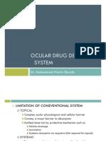 Ocular Drug Delivery System