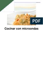 Cocinar Con Microondas