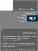Director's Remuneration