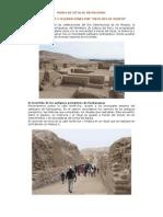 Programación Mes de los Museos - Museo de Sitio de Pachacamac