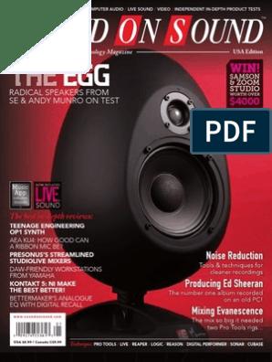 SOUND-ON-SOUND   Loudspeaker   Microphone