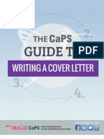 Cover Letter Writing Guide