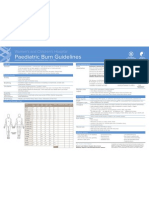Burns Guidelines Quick Reference Chart