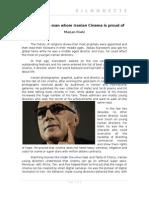Kiarostami, A Man Whom Iranian Cinema_MarjanRiahi