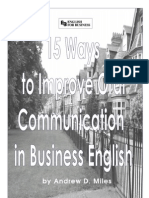 15 Ways to Improve Oral Communication