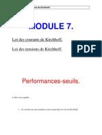 Module 7 Lois de Kirchhoff