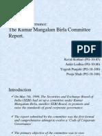 Kumar Mangalam Birla Committee