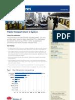 Sydney Public Transport Statistics January 2013.