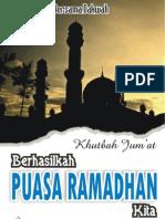 Khutbah Jumat - Berhasilkah Puasa Ramadhan Kita