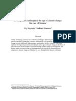 Climate Change Sidama