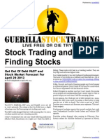 Stock Trading Forecast and Commentary