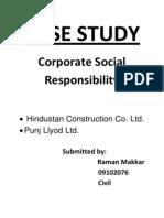 Casestudy CSR