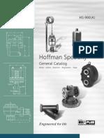 HS-900A Hoffman Steam Aplication Manual