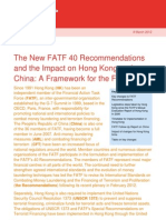 New FATF Recommendations 2012