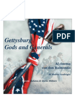 2013 LEOFRIGIO Gettysburg - Gods and Generals. Al cinema con don Raimondo