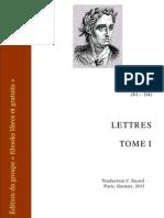 Pline Le Jeune Lettres 1
