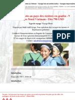 Voyage Photo au pays des rizières en gradin - 9 jours Nord Vietnam - Dès 798 USD