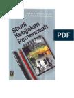 Studi Kebijakan Pemerintah