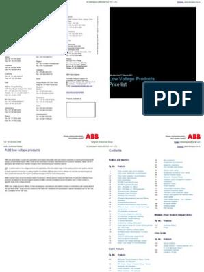 ABB 1SDA051354R1 UVR-C T1-T2-T3 220...240VAC-220...250VDC
