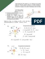 Dinámica del Sólido Rígido v - Problema poleas