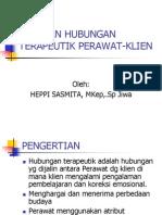 Tahapan Hub Terapeutik P_K