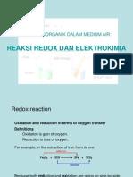 Reaksi Anorganik Dalam Medium Air 1
