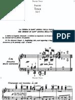 Puccini Tosca Vocal Score