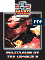 Babylon 5 Wars - Militaries of the League 2