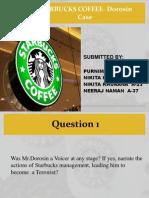 Starbucks Coffee- Dorosin Case