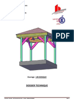 Dossier Technique UN KIOSQUE CAP Charpentier Du Bois 2012 2013