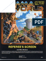 Gamma World - Referees Screen