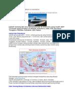 Persebaran Gunung Berapi Di Indonesia