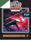 Babylon 5 Wars 2nd Edition - Showdowns 7