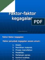 Kuliah Ke 2-Faktor Kegagalan