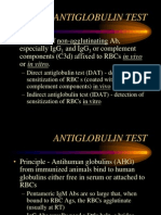 Antiglobulin Test