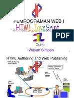 Pemrograman Web I