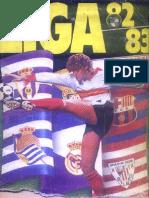 Album Cromos Futbol 1982-83
