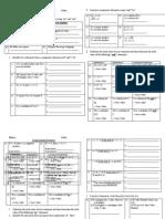 Malaysia Form 4 Mathematics Chapter 4.3 and 4.4 (Mathematical Reasoning)