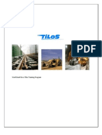 Work Book for a Tilos Training Program