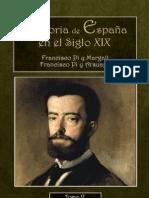 Historia Siglo XIX, Pi y Margall Tomo V
