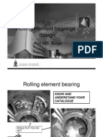 Rolling Element Bearings - Design Slides