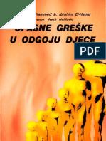 Opasne Greske u Odgoju Djece