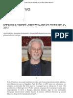 Entrevista a Alejandro Jodorowsky