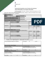 MODELO Impreso Cambio Asignaturas Acuerdo Académico Sicue movilidad nacional 2009-2010 UB-cat/caste