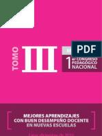 1er Congreso Pedagogico Nacional Tomo III
