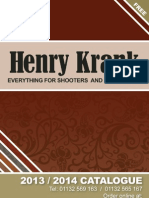 2013 2014 Henry Krank Cat