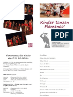 Kinder tanzen Flamenco