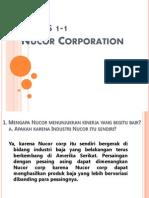 Nucor Corporation SPM Presentasi