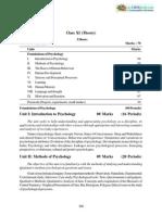 2013 Syllabus 11 Psychology