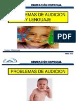 Problemas de Audicion y Lenguaje